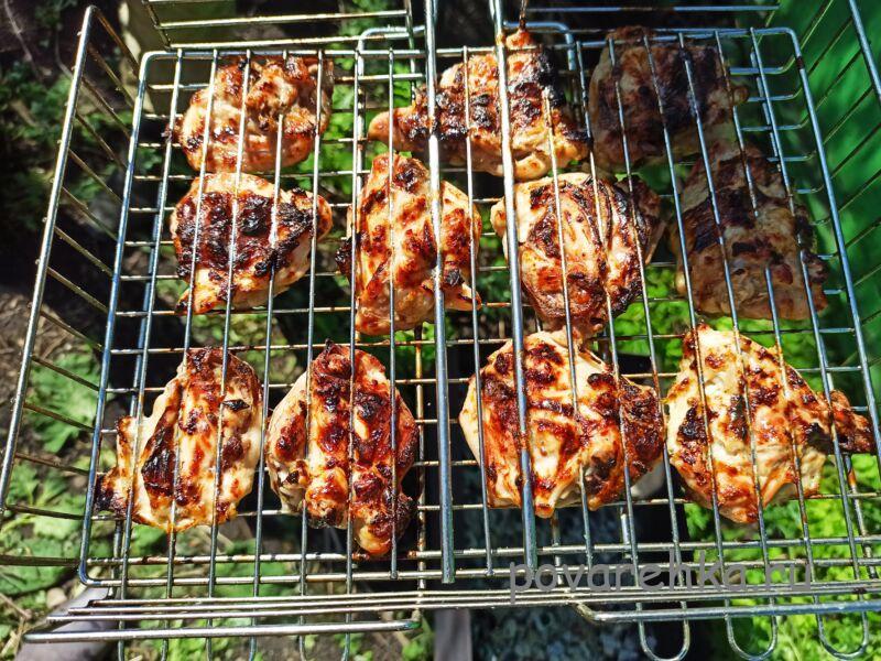 Шашлык из курицы + самый вкусный маринад, чтобы мясо было мягким и сочным