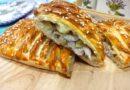 Пирог с курицей и картошкой в духовке