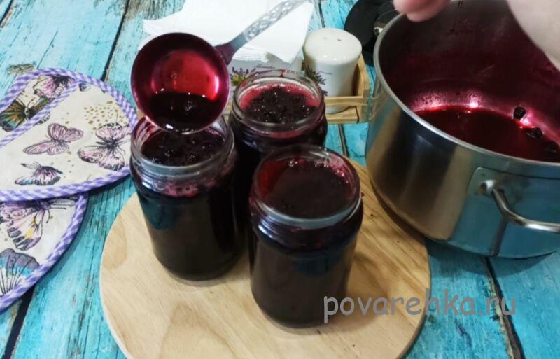 Варенье из чёрной смородины на зиму — простой рецепт